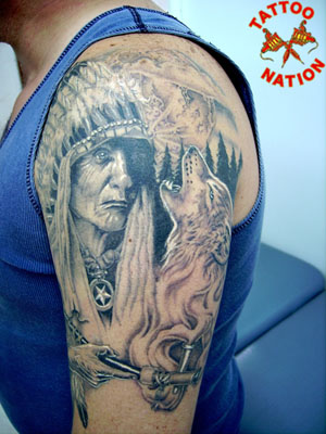 American Indian Tattoos - Showing your tribal heritage