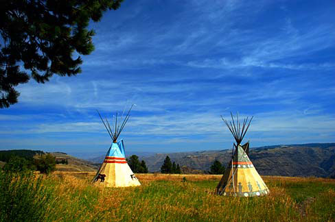 The American Indian Teepee Is Most Well Known Of Homes