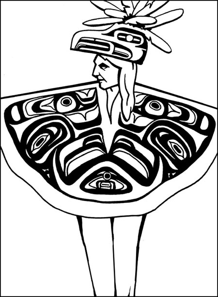 The Peaceful Chinook Indians Lived Along The Columbia River