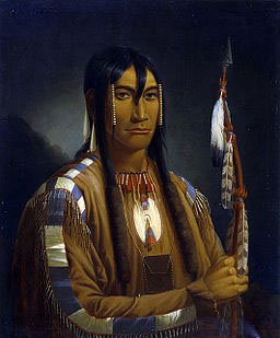 Cree Warrior Painting