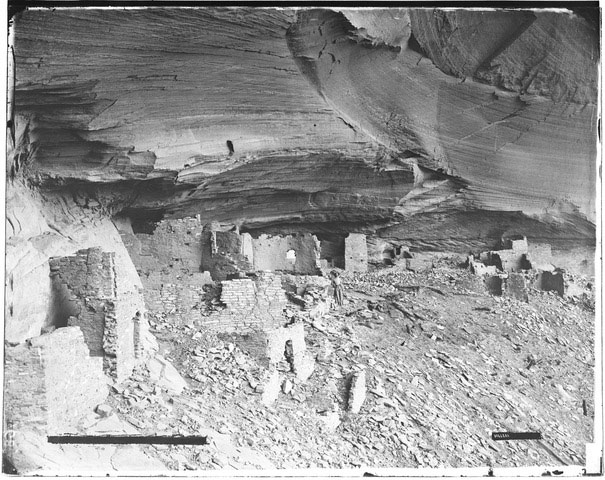 Indian Cave Dwellings in Arizona