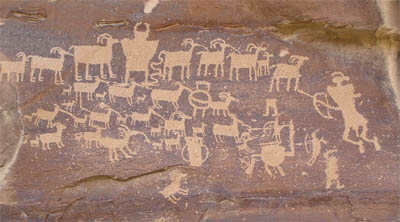 Native American Carvings and Paintings