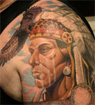 Native Tattoo Eagle
