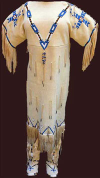 Native American Wedding Dress